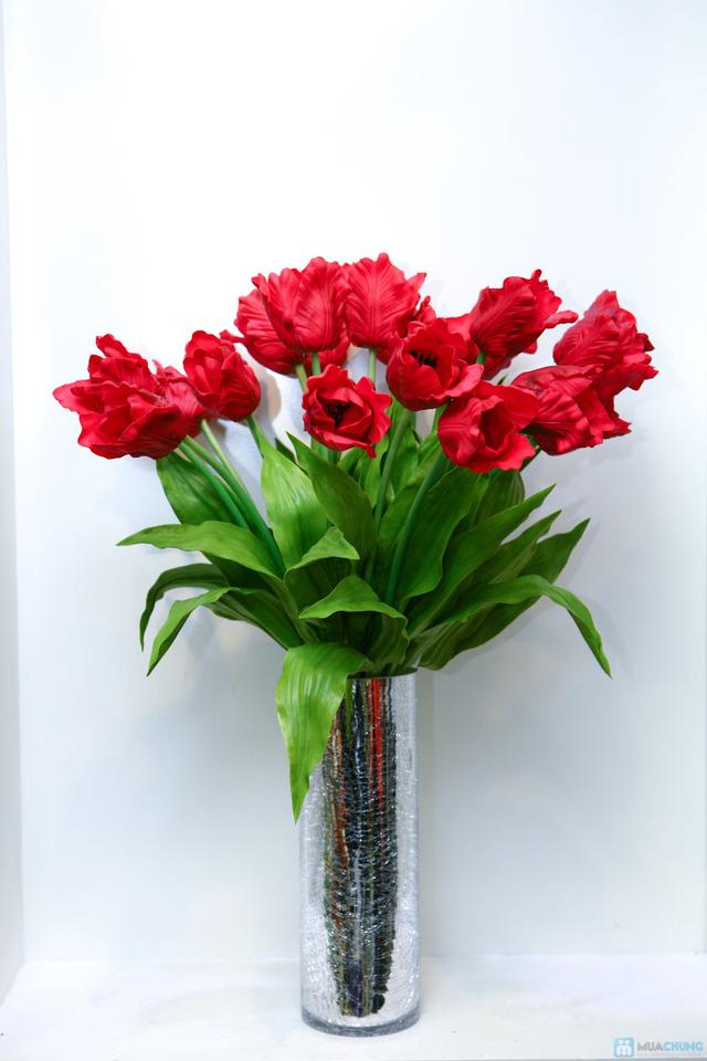 Tô điểm không gian sống của gia đình bạn với Hoa lụa nghệ thuật tại Hoa Decor - Hoa thay lời yêu thương - 2