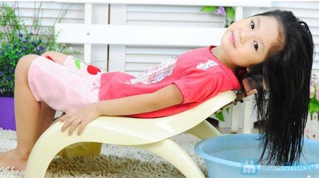 Ghế gội đầu cho bé - có nấc điều chỉnh chiều cao - 5