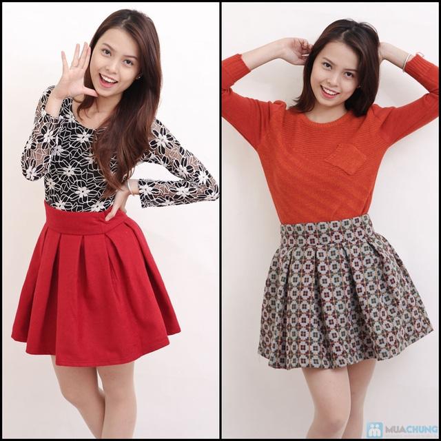 Chân váy dạ xòe Hàn Quốc - Chỉ với 145.000đ - 10