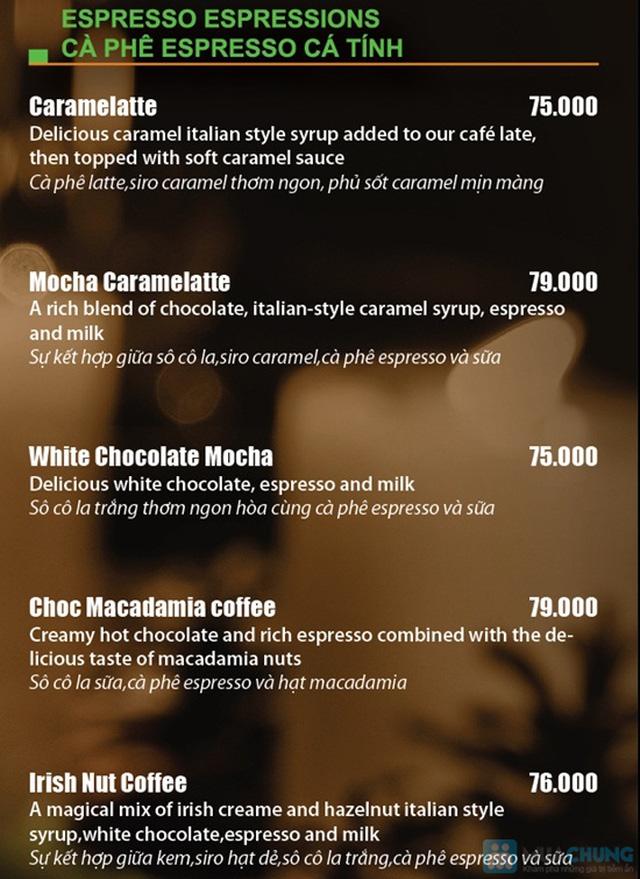 Thưởng thức các loại nước uống và bánh ngọt thơm ngon tại Khaisilk - That's Cafe - Chỉ 50.000đ được phiếu 100.000đ - 2