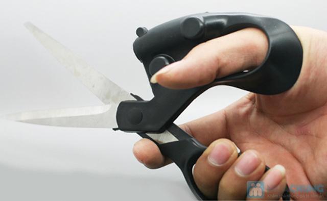 Kéo cắt laser - giúp bạn cắt thẳng mà không cần đo trên nhiều chất liệu - Chỉ 69.000đ/ 01 chiếc - 6