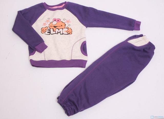 Bộ quần áo bông nỉ cho bé - 1