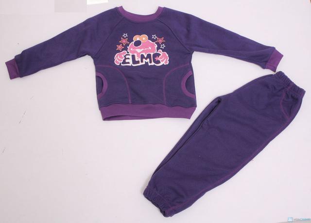 Bộ quần áo bông nỉ cho bé - 2