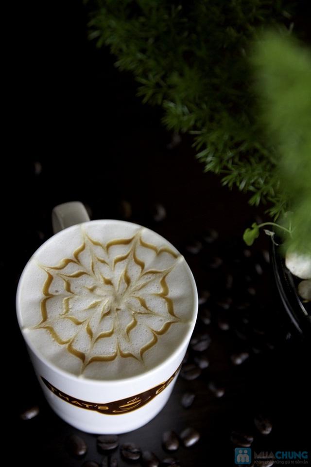 Thưởng thức các loại nước uống và bánh ngọt thơm ngon tại Khaisilk - That's Cafe - Chỉ 60.000đ được phiếu 100.000đ - 2
