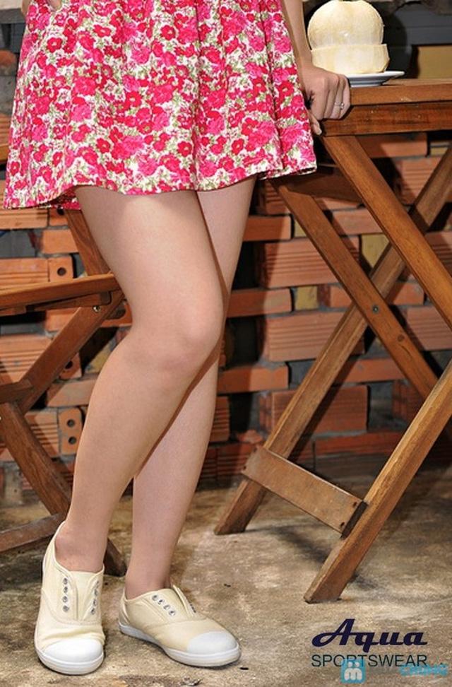 Giày nữ Aqua - Kiểu dáng Oxford 8 lỗ cá tính, không cần cột dây (size 35, 41) - Chỉ 152.000đ/đôi - 5
