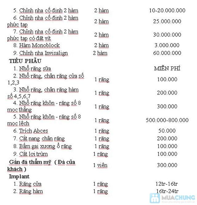 Dịch vụ bọc răng giả Titan tại Nha khoa Hà Nội - Chỉ với 720.000đ - 4