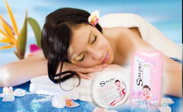 Combo sữa tắm + kem dưỡng trắng Spapro cao cấp - Chỉ 79.000đ - 6