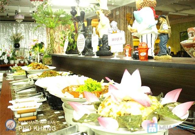 Buffet trưa  tại NH hải sản Phú Khang - Chỉ 99.000đ/ 01 người - 23