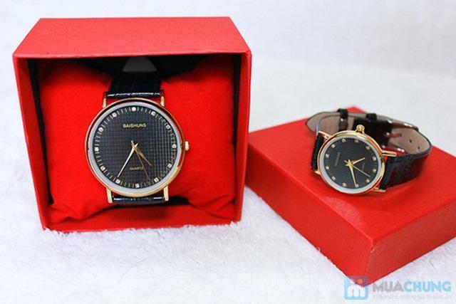 Đồng hồ đôi Baisuns - Món quà tuyệt vời cho tình yêu của bạn - Chỉ với 185.000đ/02 chiếc - 1