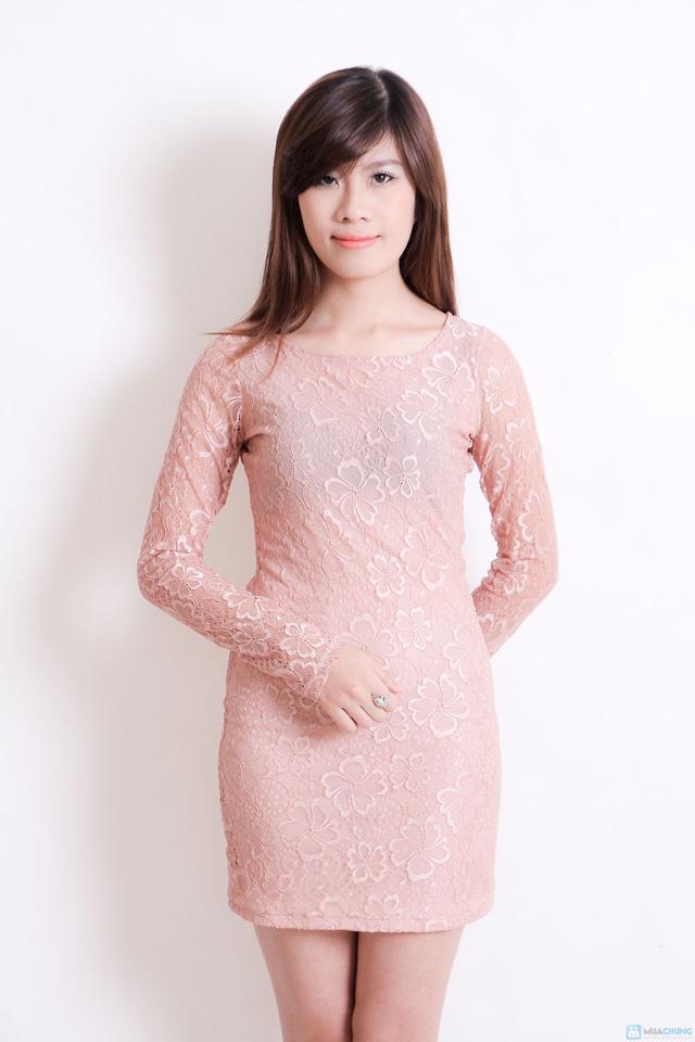 Váy ren cà rot cho nữ - 5