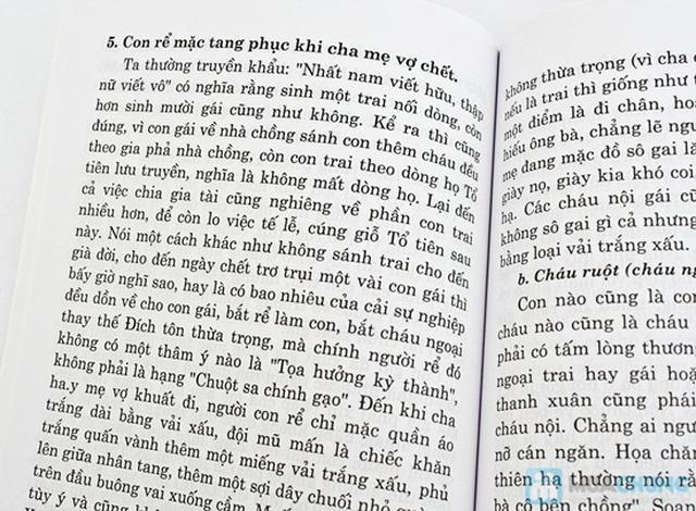 Tập văn cúng gia tiên + Thọ mai gia lễ - phong tục dân gian về cưới hỏi ma chay của người Việt Nam. Chỉ với 47.000đ - 9