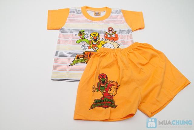 Combo 2 bộ đồ thun Siêu Nhân cho bé trai 1 tuổi - 4