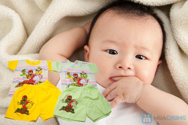 Combo 2 bộ đồ thun Siêu Nhân cho bé trai 1 tuổi - 10
