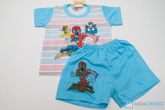 Combo 2 bộ đồ thun Siêu Nhân cho bé trai 1 tuổi - 3