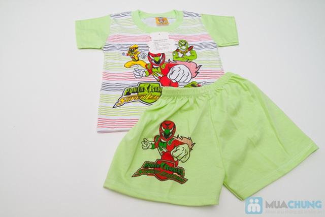 Combo 2 bộ đồ thun Siêu Nhân cho bé trai 1 tuổi - 5