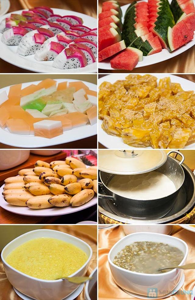 Buffet Gánh dành cho buổi trưa tại Khách sạn Bông Sen Quận 1 với hơn 40 món ăn đặc sắc 3 miền - Chỉ 319.000đ/ 1 người - 5