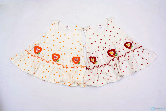 Váy kèm quần chip cho bé gái - 12