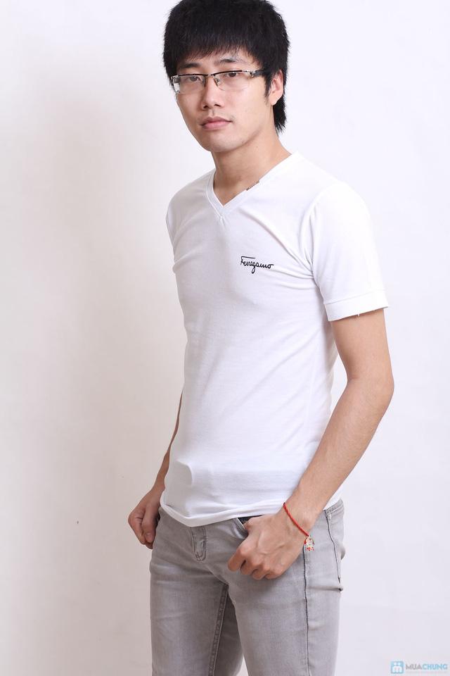 combo 2 áo phông nam nẹp cổ - 2