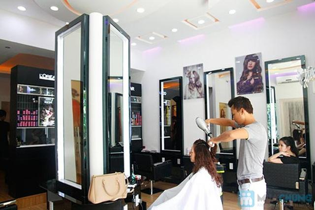 Trọn gói nhuộm phủ bóng công nghệ axit phục hồi hư tổn tại Salon - Spa Lê Hiều -  Chỉ 200.000đ - 1