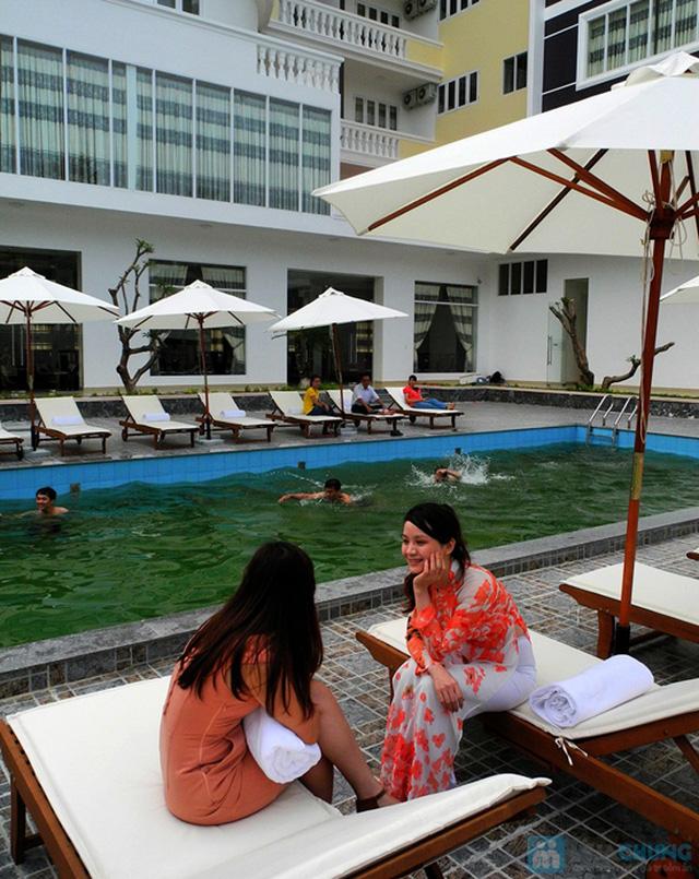Khách sạn 3* Châu Loan Nha Trang, cách bãi tắm biển 50m. Phòng Superior kèm buffet sáng cho 2 người. Chỉ 450.000đ/đêm - 11