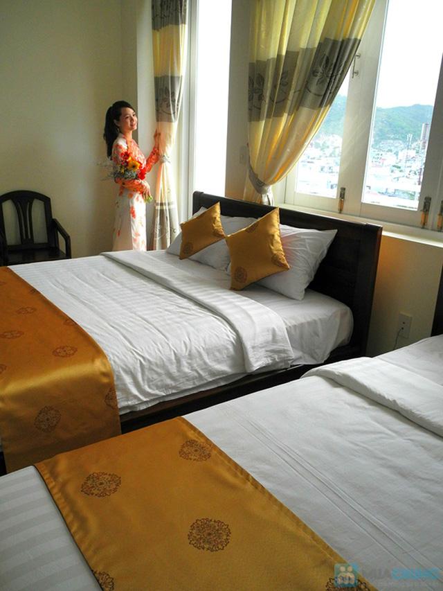 Khách sạn 3* Châu Loan Nha Trang, cách bãi tắm biển 50m. Phòng Superior kèm buffet sáng cho 2 người. Chỉ 450.000đ/đêm - 8