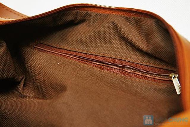 Túi xách da lộn dạng lớn - 8