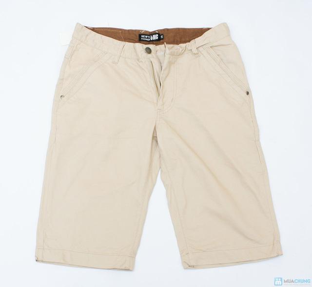 quần sooc kaki cho nam ngày hè - 10