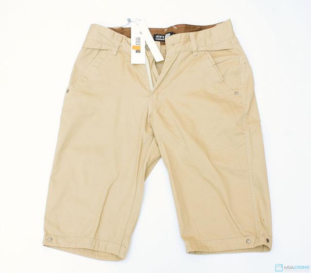 quần sooc kaki cho nam ngày hè - 1
