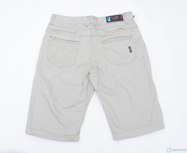 quần sooc kaki cho nam ngày hè - 7