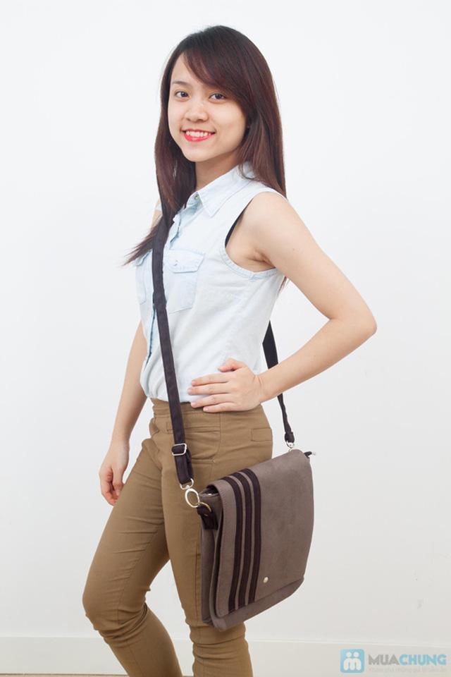 Túi da lộn dạng hộp - Cho bạn gái thêm cá tính và thời trang - Chỉ 119.000đ/01 chiếc - 1