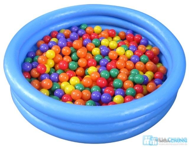 Bể bơi bơm hơi Intex xanh thủy tinh(1,14x25) - 1