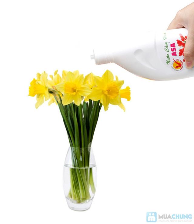 Nước cắm hoa giúp hoa tươi lâu, nước không thúi - Chỉ 60.000đ/ 03 chai - 5