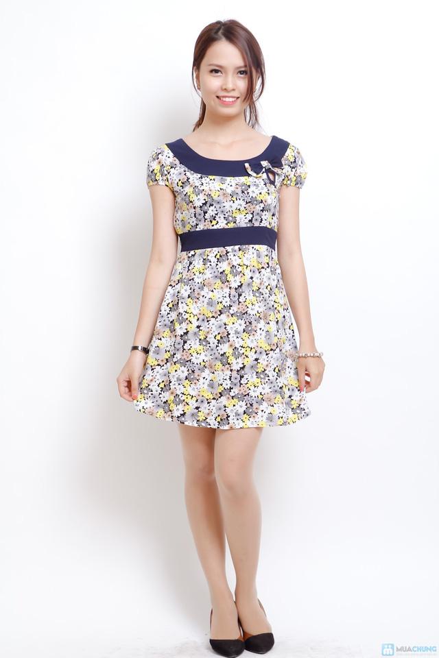 váy lanh điệu đà - 1