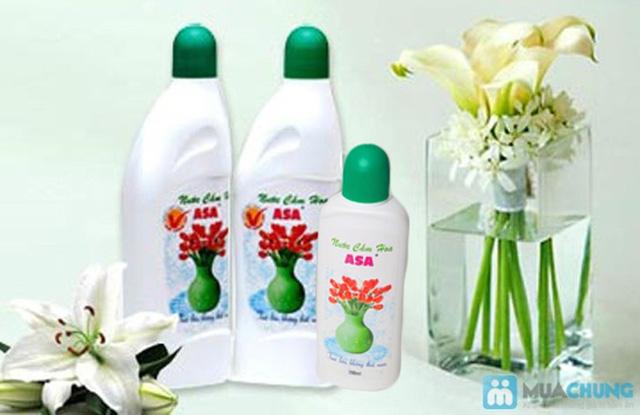 Nước cắm hoa giúp hoa tươi lâu, nước không thúi - Chỉ 60.000đ/ 03 chai - 2