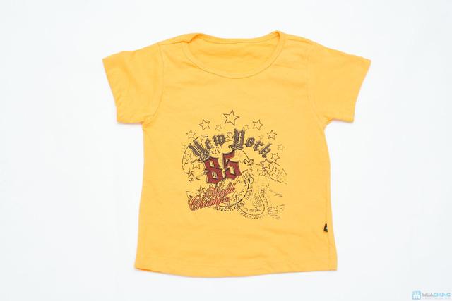 Combo 3 áo phông cotton cho bé trai - 5
