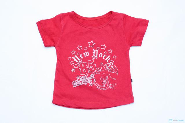 Combo 3 áo phông cotton cho bé trai - 7