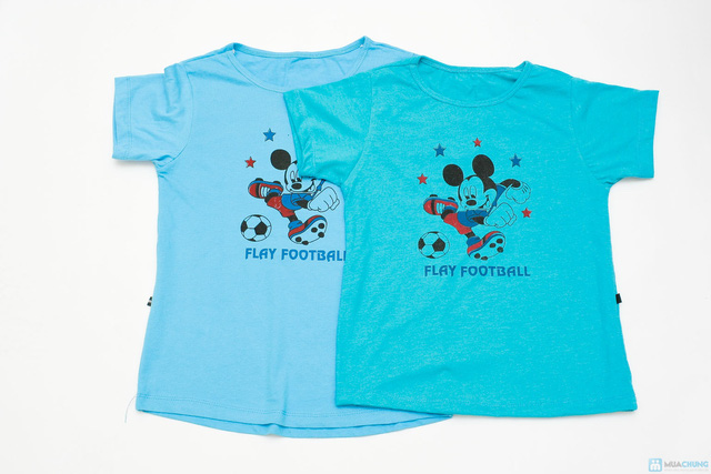Combo 3 áo phông cotton cho bé trai - 4
