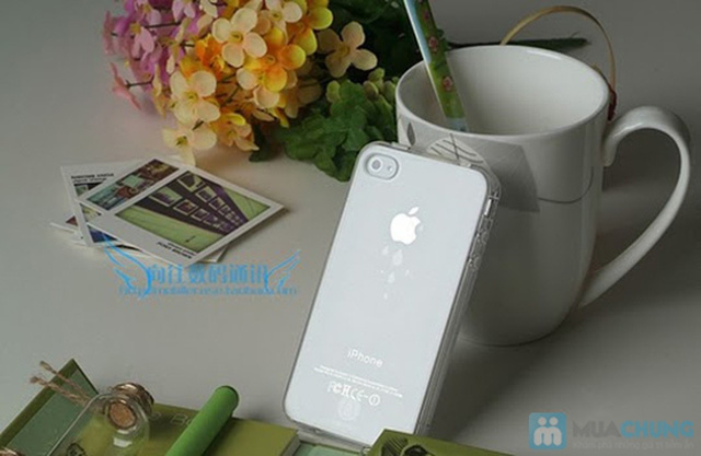Ốp lưng Silicon cho iPhone 4/4S hoặc iPhone 5 - 2