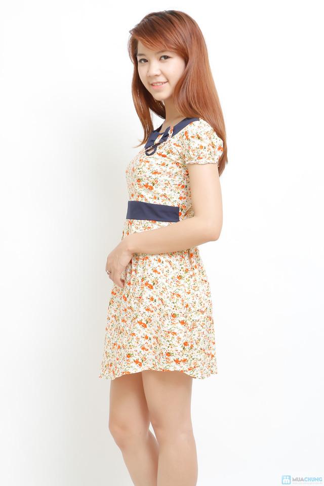 Váy lanh điệu đà - 4