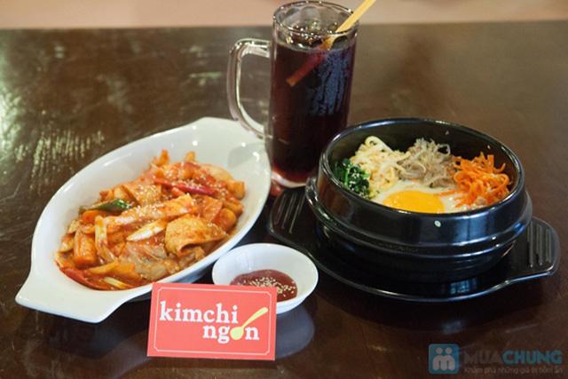Lựa chọn 01 trong 02 set menu dành cho 01 người tại  Quán Kim Chi Ngon - Chỉ 66.000đ - 6