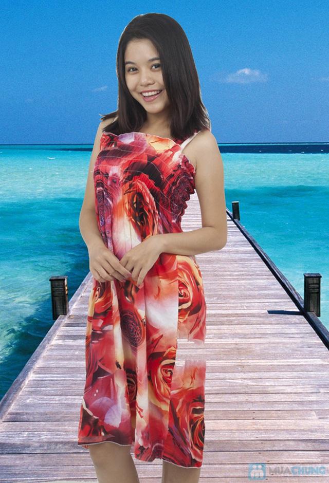 Đầm Maxi hoa dài mát mẻ cho mùa hè - Chỉ 75.000đ - 4