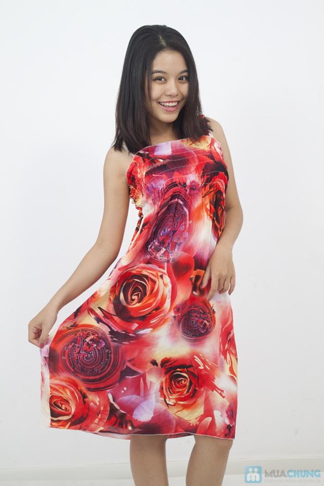 Đầm Maxi hoa dài mát mẻ cho mùa hè - Chỉ 75.000đ - 6