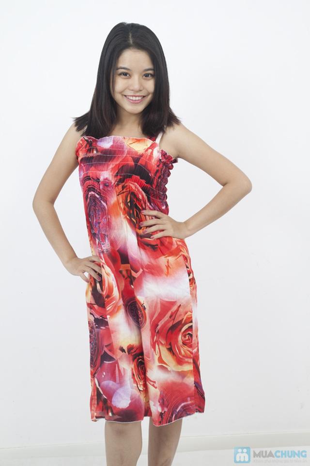 Đầm Maxi hoa dài mát mẻ cho mùa hè - Chỉ 75.000đ - 3