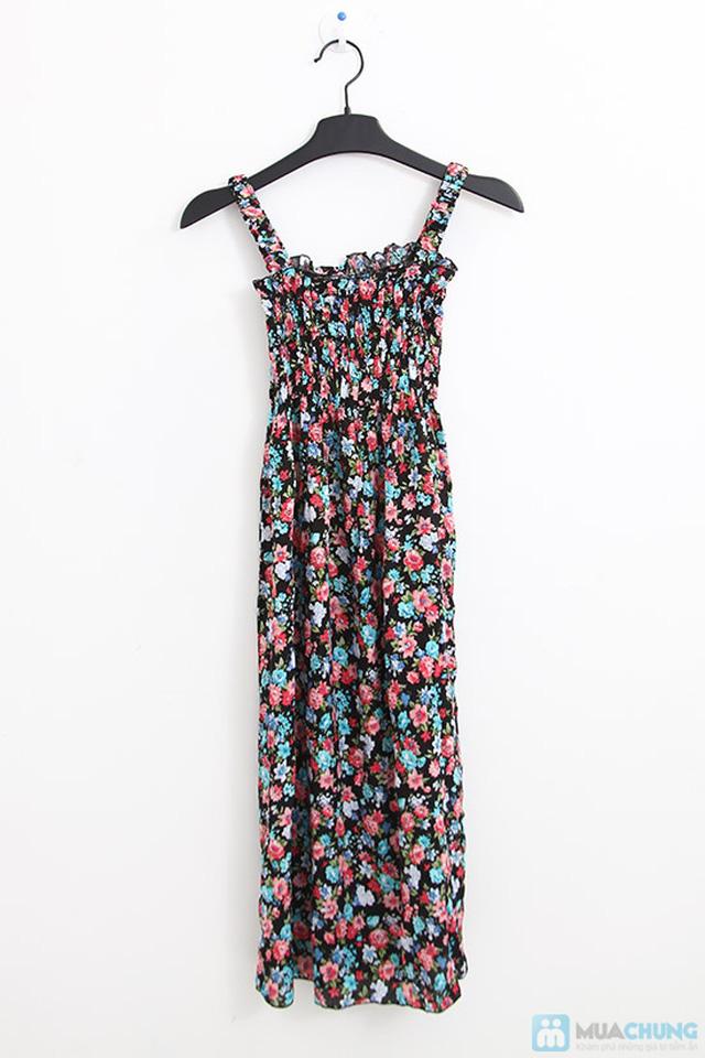 Đầm Maxi hoa dài mát mẻ cho mùa hè - Chỉ 75.000đ - 1