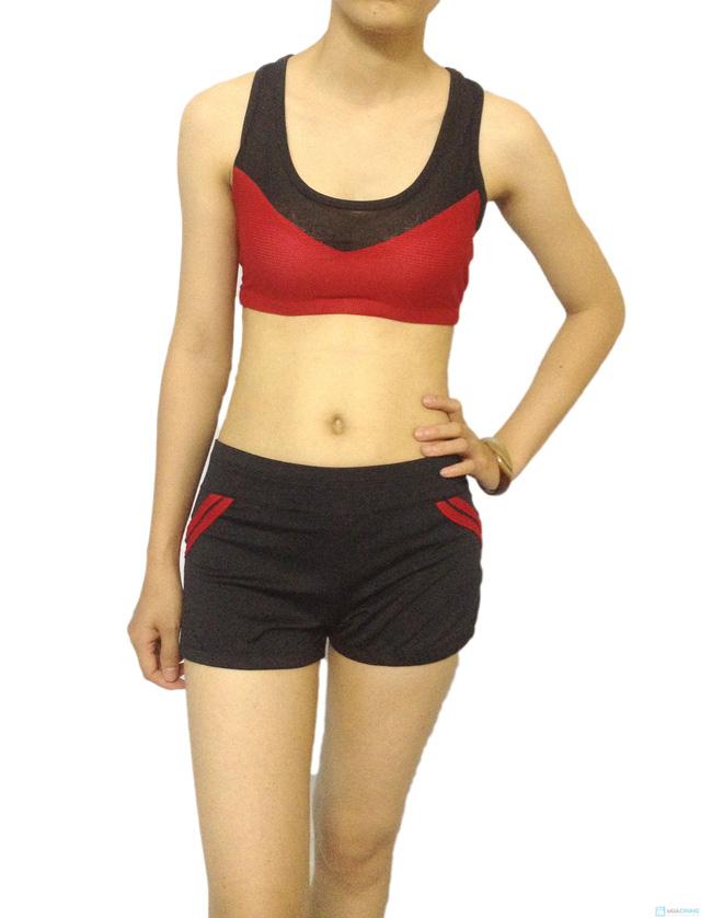 Bộ quần áo tập Aerobic - 2