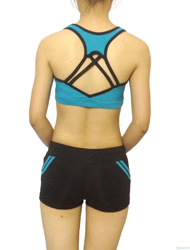 Bộ quần áo tập Aerobic - 5