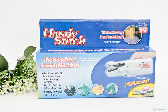 Máy khâu cầm tay chạy bằng pin Handy Stitch - 6
