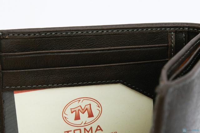 Ví da nam cao cấp thương hiệu TOMA - 4