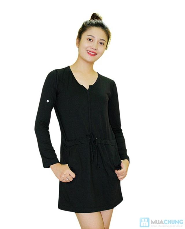 Đầm thun thắt eo cực nữ tính - Chỉ 130.000đ/ 01 chiếc - 2