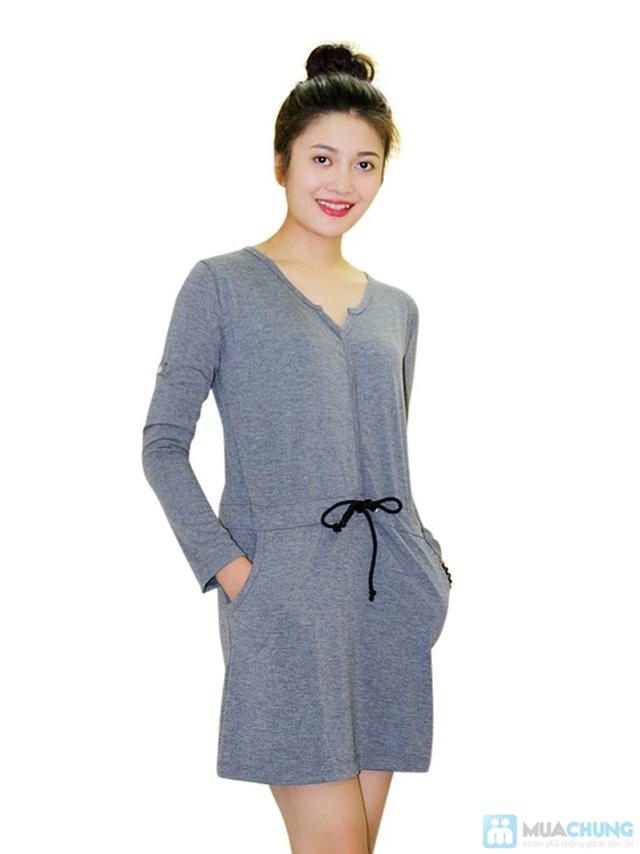 Đầm thun thắt eo cực nữ tính - Chỉ 130.000đ/ 01 chiếc - 1
